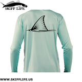 Kids Fishing Shirts Tailing Redfish & Ruler Sleeve - Skiff Life