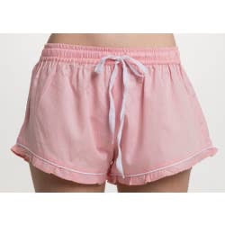 Ruffled Lounge Shorts