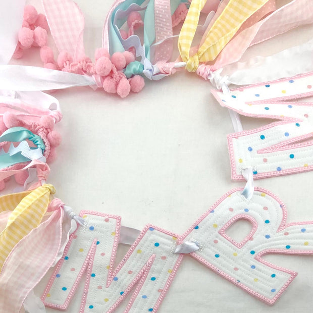Monogrammed Banners