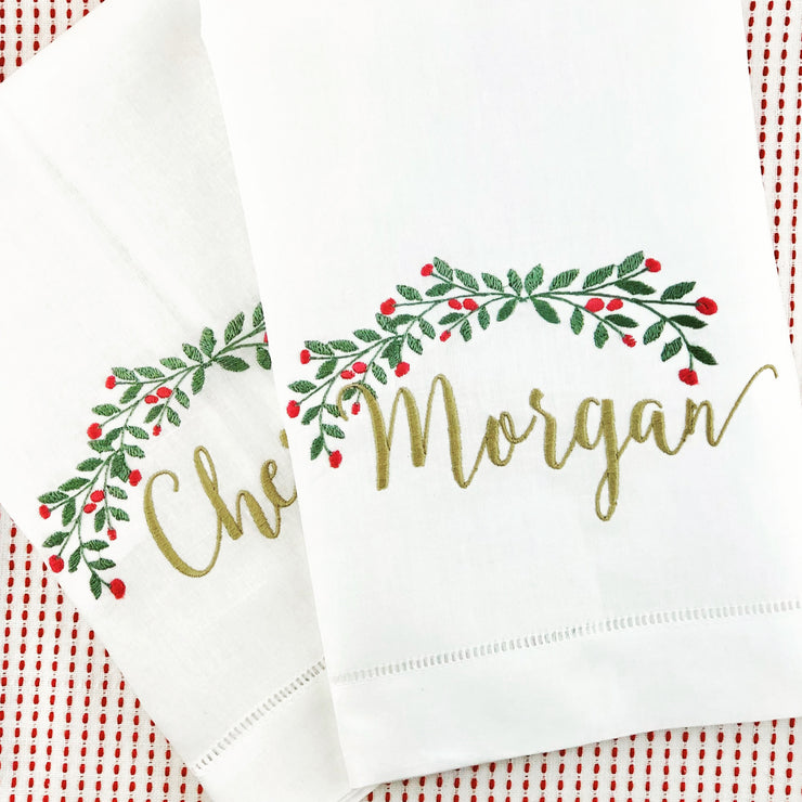 Christmas Guest Towels