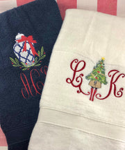 Holiday Hand Towels