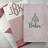 Red & White Dishtowels