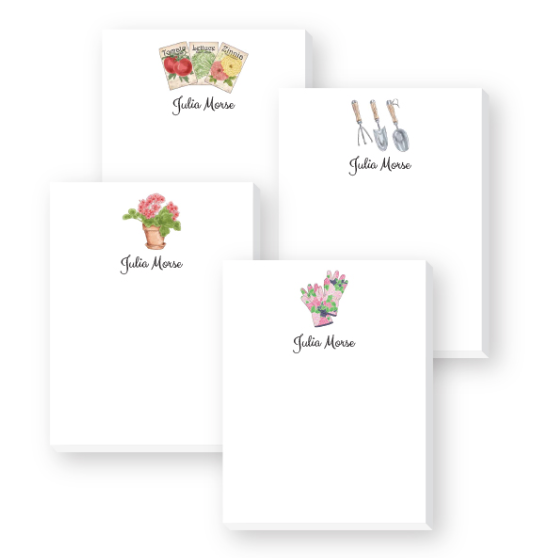 Monogrammed Notepads
