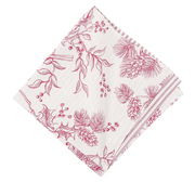 Evergreen Toile Napkin