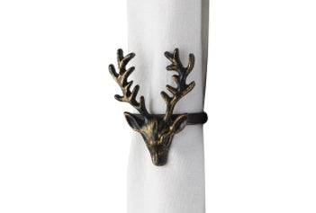 Napkin Rings - Stag