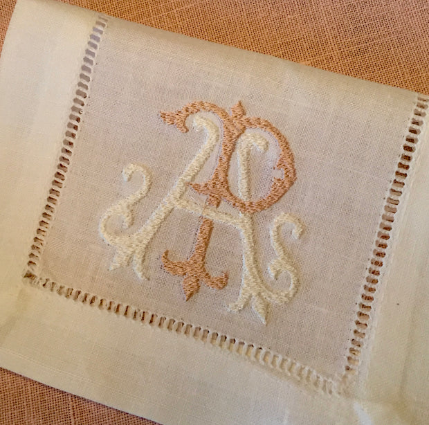 Linen Tea or Cocktail Napkins