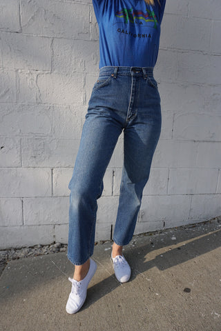 High Waist 80s Lee Jeans Sz. 26 x 27.5