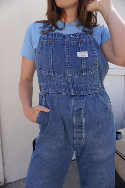 SALE Denim Overalls, Big Mac, Sz. 29 Waist