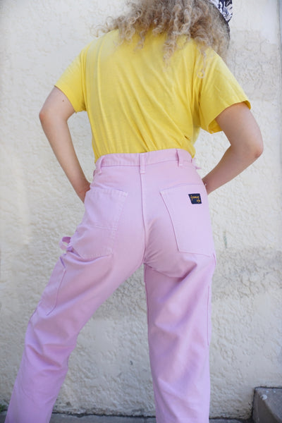 SALE High Waisted Blush Painter's Pants, Sz. 30 x 29