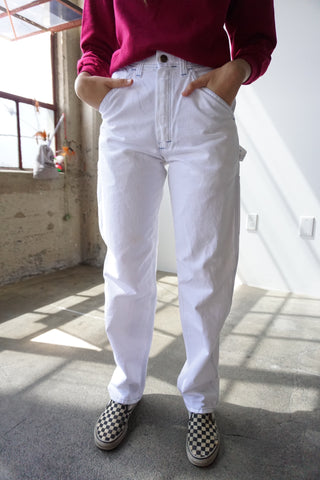 White Stan Ray Painter Pants, Multiple Sizes