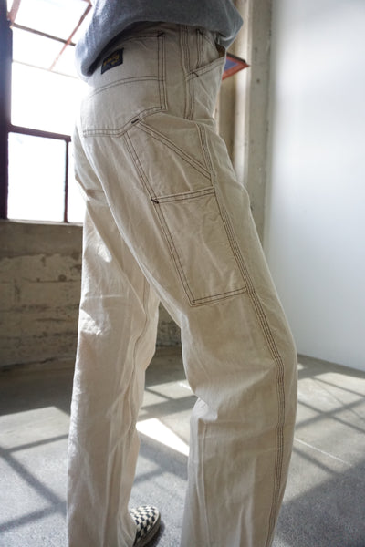 "Off White  Stan Ray Painter Pants w/ Contrast Stitch, 26"" Waist"