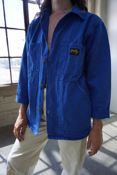 SALE Stan Ray Chore Jacket, Cobalt, Multiple Sizes