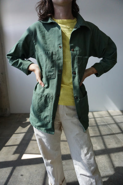 Stan Ray Chore Jacket, Utility Green, Multiple Sizes