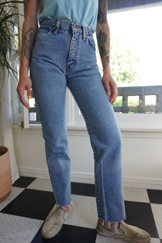 80s High Waisted Wrangler Jeans, Sz. 25 x 30