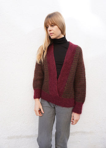 SALE Sweater Mohair 80s Ellen Tracy Sz. S-L