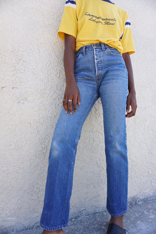 High Waisted Levi's 501 Jeans Wash, Sz. 27 x 32