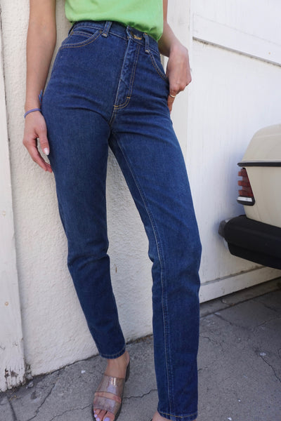 SALE 80s Lee High Waisted Jeans, Sz. 23.5 x 30