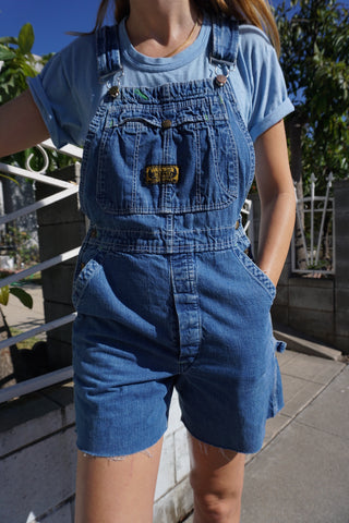 Overall Shorts by Washington Dee Cee, Sz. 28 Waist
