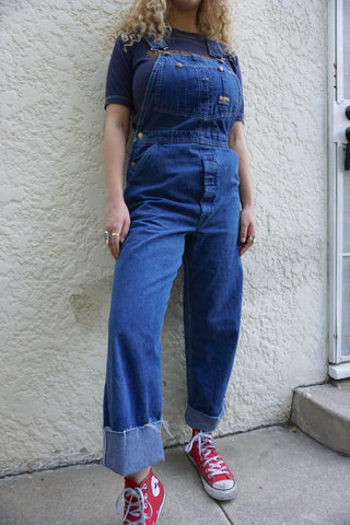 "Oshkosh Denim Overalls, Sz. 31"" Waist"