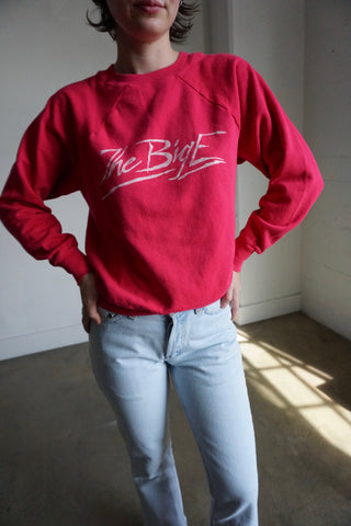 80s Big E Sweatshirt, Sz. S