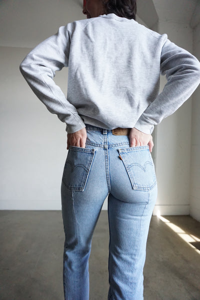 80s Levi's Tapered Jeans, Sz. 25 x 26.5
