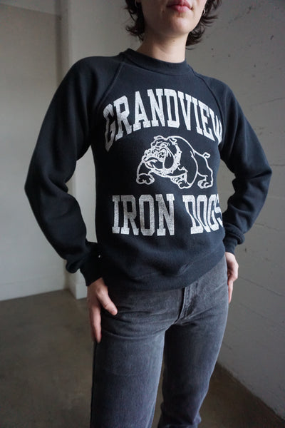Iron Dogs Raglan Sweatshirt, Sz. S