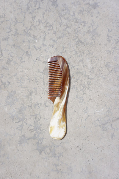 Horn Hair Comb Made in Vietnam, Small Size