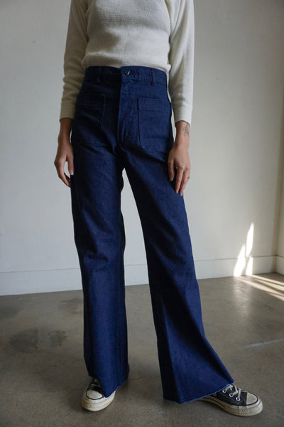 High Waisted Sailor Jeans, Multiple Sizes