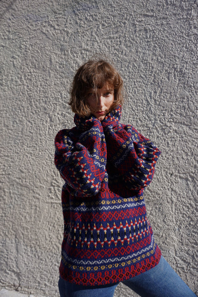SALE Swedish Wool Sweater Sz. S-L