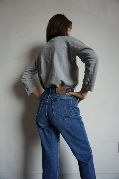 SALE 80s Lee High Waisted Jeans, Sz. 25.5 x 29