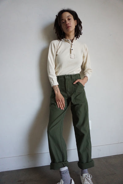 High Waisted Army Pants, Multiple Sizes