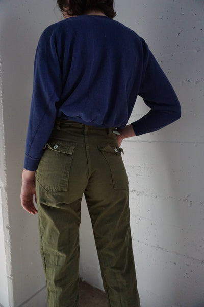 High Waist Army Pants, Sz. 26 x 32