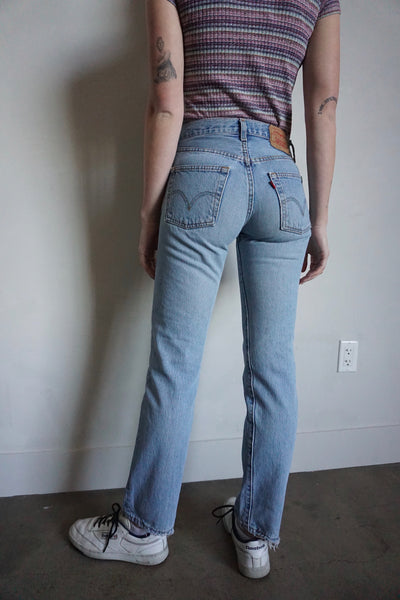 Levi's 501 Jeans Medium Wash, Sz. 25.5 x 31