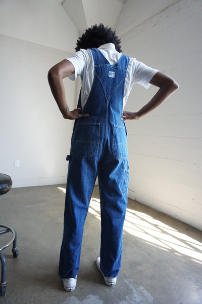 "Liberty Brand Denim Overalls, Sz. Up to 30"" Waist"