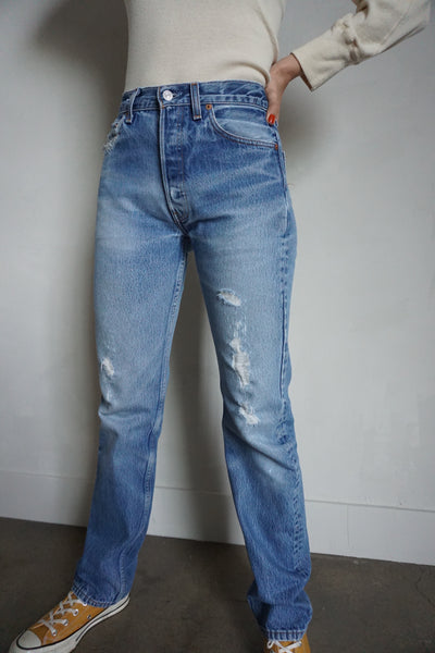Levi's 501xx Jeans Medium Wash, Sz. 26.5 x 32.5
