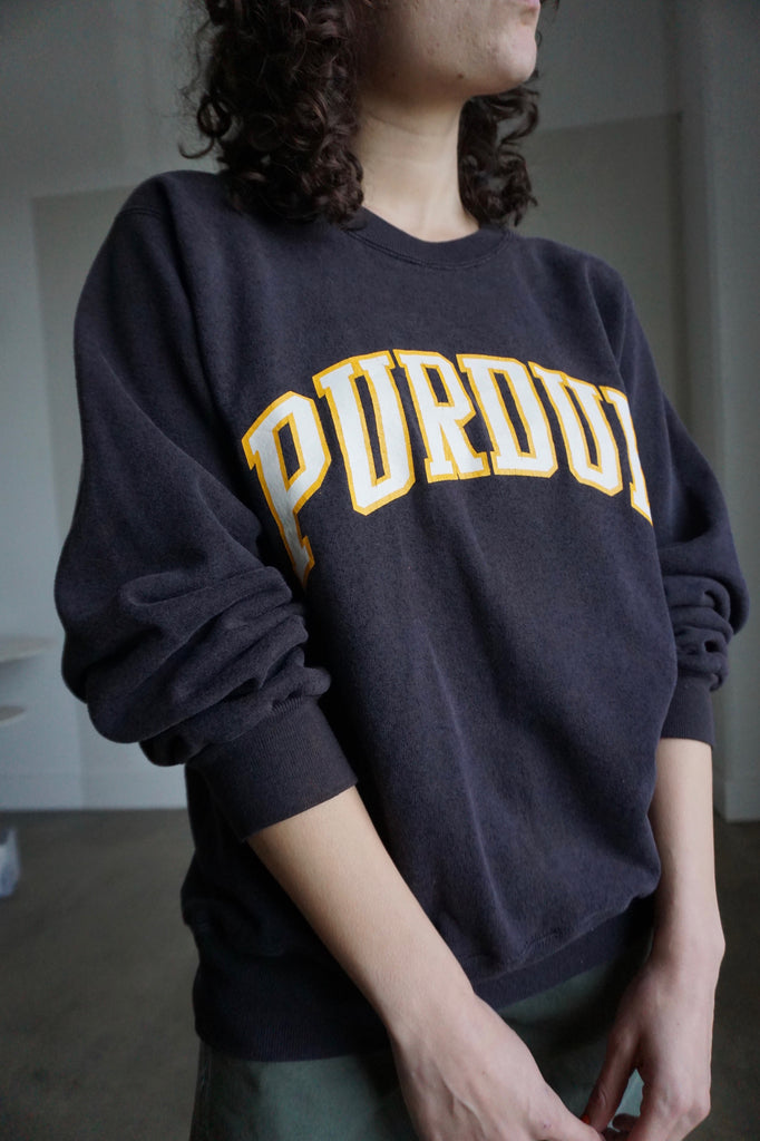 Champion Sweatshirt, Purdue University, Sz. M-L