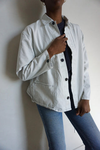 SALE Chore Jacket Cloud Cotton, Sz. M