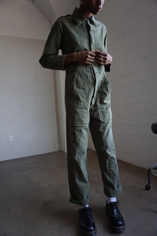 Army Green Flight Suit Coveralls, Multiple Sizes