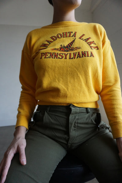 SALE 1960s Pennsylvania Sweatshirt, Sz. S-M