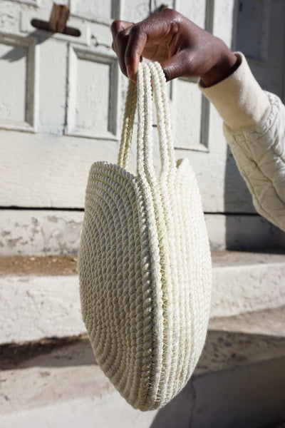 Small Circle Rope Tote by Apprvl