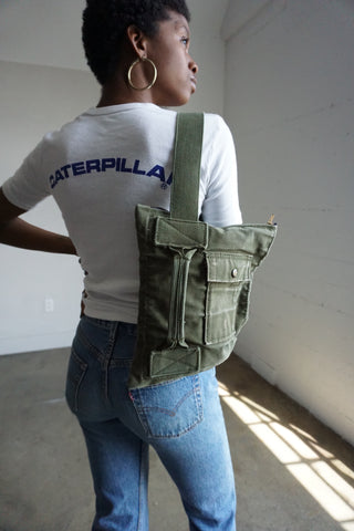 SALE Cross Body Military Backpack