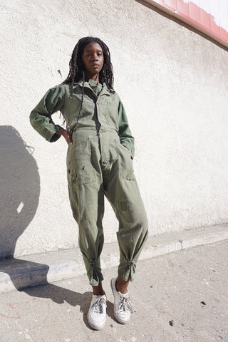 "Flight Suit Coveralls Sz. Up to 32"" Waist"