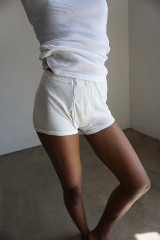 Cotton Boy Shorts, Medium