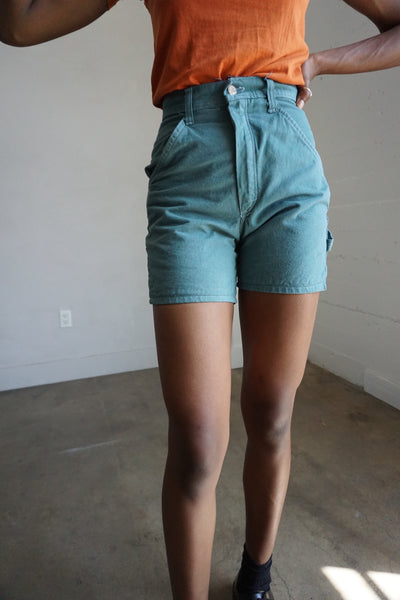 Forest Green Stan Ray Shorts, Multiple Sizes