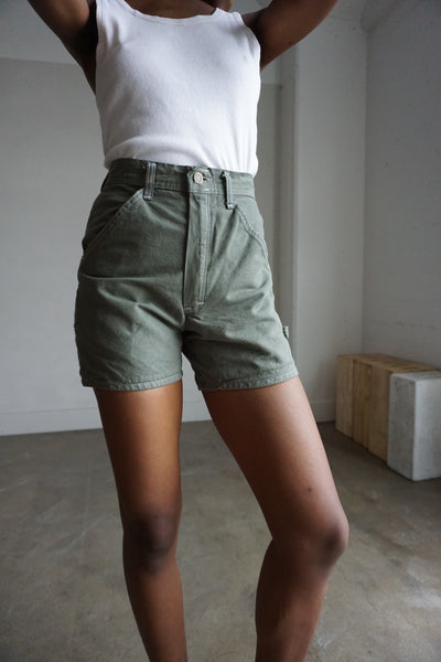 Utility Green Stan Ray Shorts, Multiple Sizes