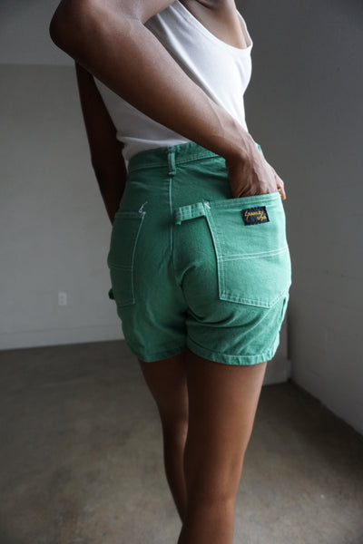 Kelly Green Stan Ray Shorts, Multiple Sizes