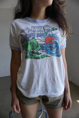 70s Bay to the Breakers Ringer Tee, Sz. S