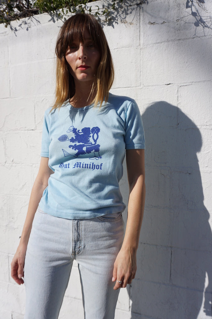 SALE 70s German Pub Graphic Tee Sz. M