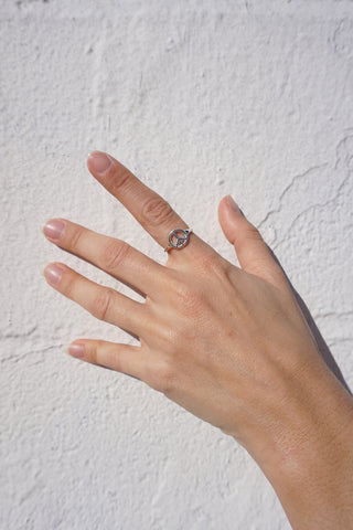 Peace Sign Ring - Fair Season x Lucy Michel