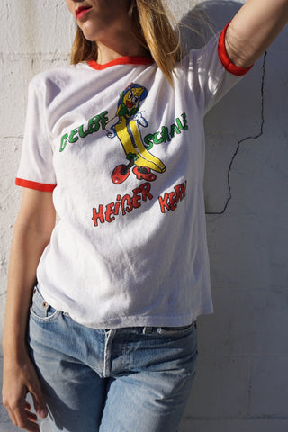 80s German Graphic Tee Sz. M